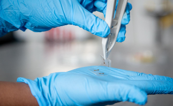 New Atomically Thin Material for Touchscreens Created by Liquid Metal Printing