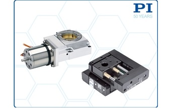 Vacuum Compatible Miniature Linear and Rotary Stages, New from PI