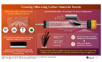 Scientists Grow Carbon Nanotube Forest Much Longer Than any Other