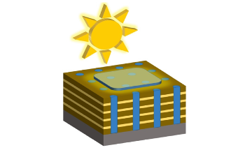 Nanocomposite-Based Method to Create Highly Efficient Solar Cells