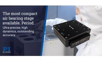 Mini Nanopositioning Stage based on High Dymamic Voice Coil Motor and Maintenance-Free Air Bearing Slide
