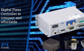 Digital Piezo Controller with Closed-Loop Position Feedback and High Voltage Amplifier in Compact Package