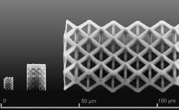 Researchers Create Silica Nanostructures with a Sophisticated 3D Printer