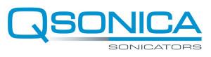 Qsonica - Ultrasonic Liquid Processors logo.