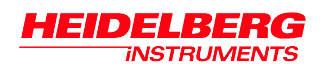 Heidelberg Instruments GmbH logo.