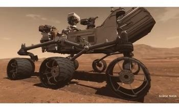 Space Qualified Piezoelectric Transducers on the Mars Rover – Life on Mars?