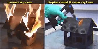Video of Graphene Fire Retardant