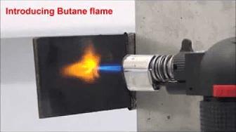 Video to Show the Graphene Flame Retardant Capabilities