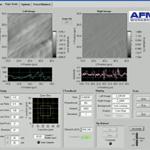 The Software User Interface of the TT-AFM form AFM Workshop