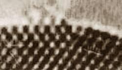 TEM image of a platinum nanoparticle.