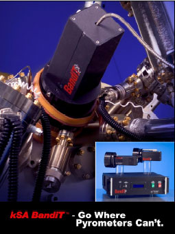 AZoNano - Nanotechnology - The kSA Bandit Temperature monitor.