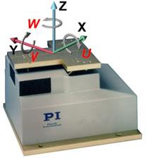 F-206 Six Axis Parallel Kinematics Micro-Alignment and -Positioning System.
