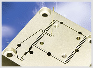 Wire-EDM cutting process provides highest-accuracy flexure guiding systems in compact nanopositioning stages.